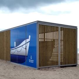 Customizable warehouse module