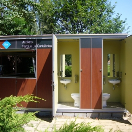 Chiosco con WC WC