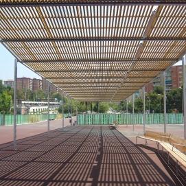 Pergola modulare Havana spazio riposo e ombra