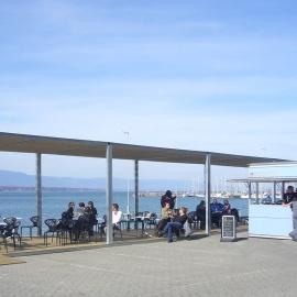 Quiosco Bar con terraza y pergola