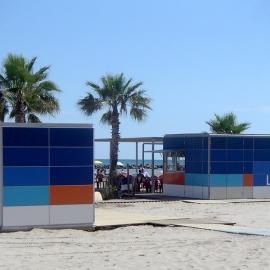 Kiosko bar playa