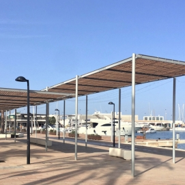 Pergola Havana Port Savina Formentera Ibiza