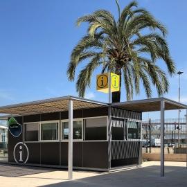 Quiosco Punto de Información Turistica Port de Palma Mallorca