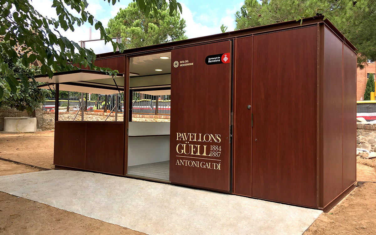 Fabricante oficina de turismo kioscos modulares urbadis for Oficina de turismo barcelona