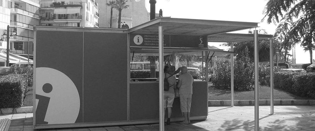 Kiosko Punto Informacion Turismo Sitges
