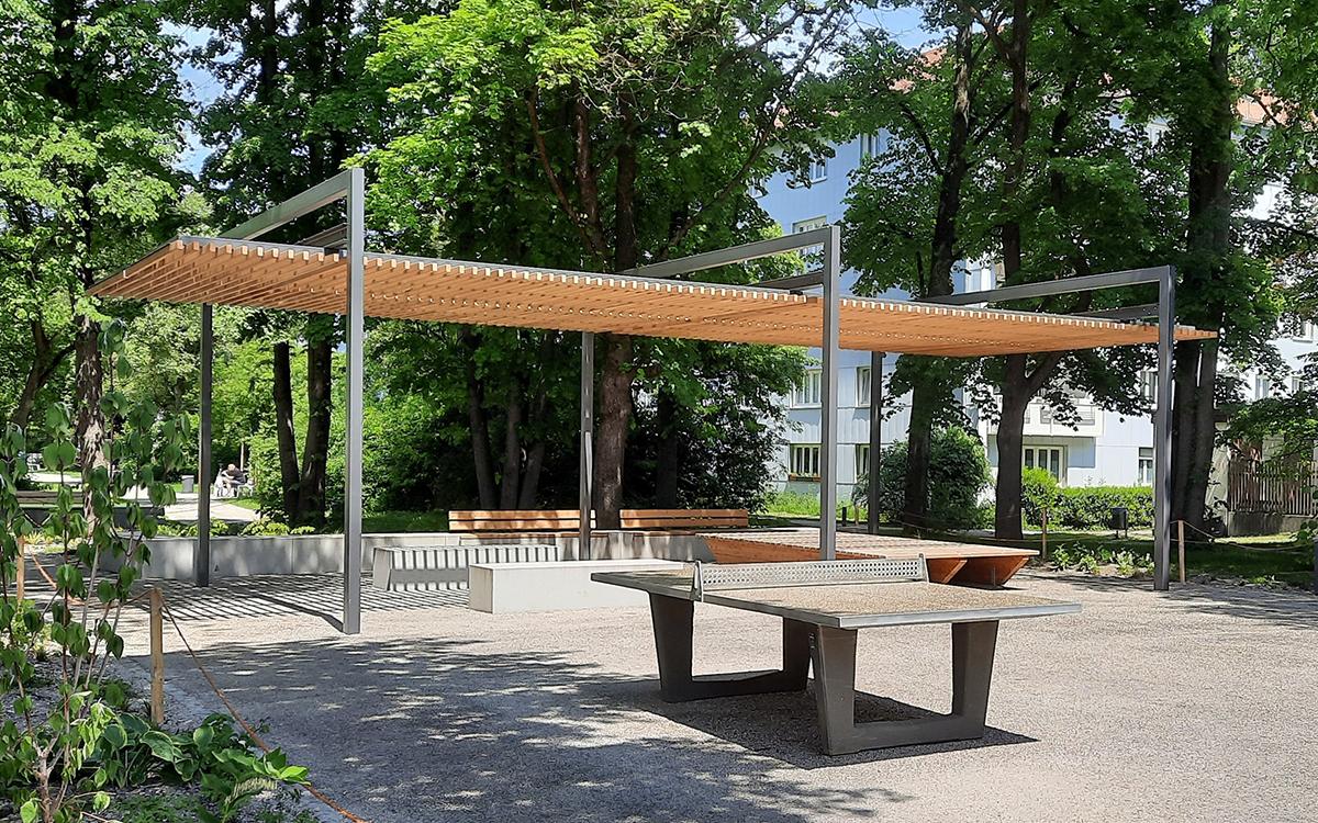 Pergola U System Munich